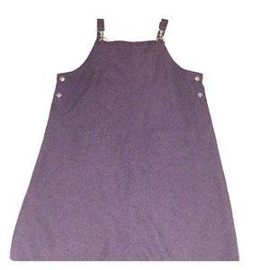 90s grunge jumper dress